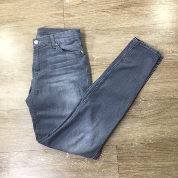 7 For All Mankind Denim - 7 for all mankind gwenevere size 27 gray